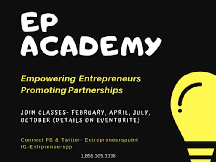 EP Academy-EPA 21-22  (Entrepreneur Exchange for NewComers & Women) image