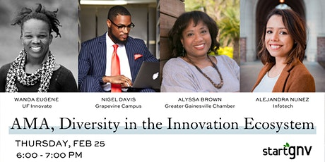AMA -- Diversity in the Innovation Ecosystem tickets