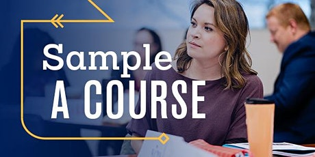 Liberal Arts Sample-a-Course tickets