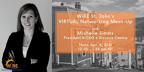 Virtual Networking Meet-Up with WiRE Newfoundland & Labrador tickets