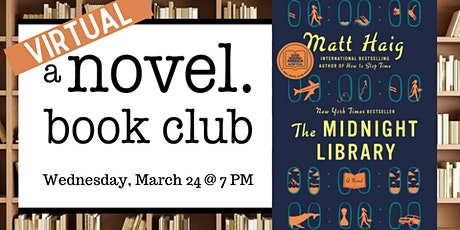 A Novel Book Club: The Midnight Library tickets