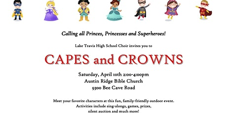 2021 Capes & Crowns tickets