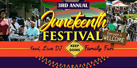 3rd Annual Juneteenth Festival tickets