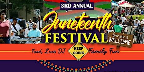 3rd Annual Juneteenth Festival tickets