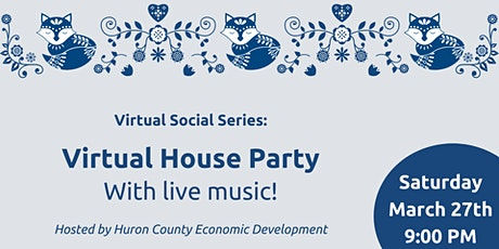 Virtual House Party with Live Music tickets