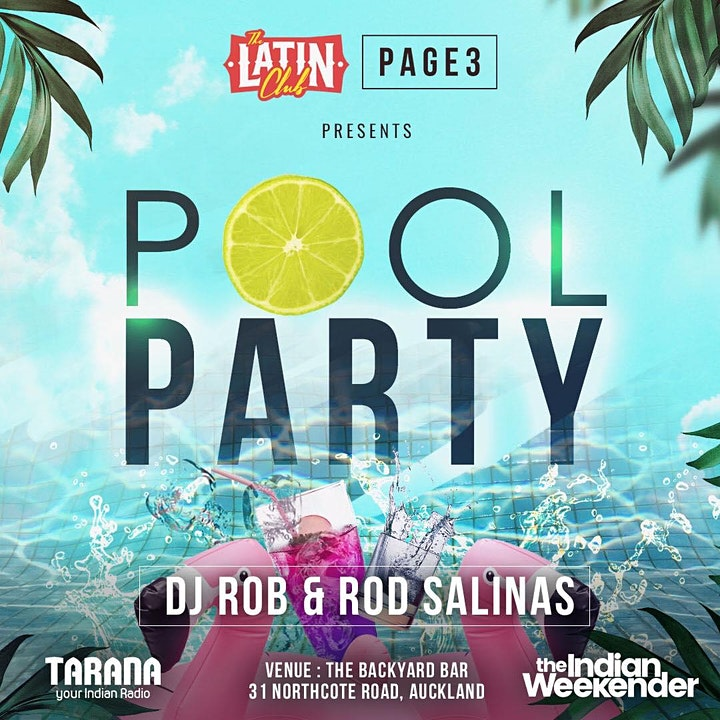 PAGE3 & LATIN CLUB - POOL PARTY image