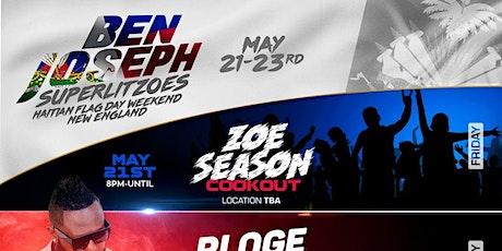 Ben Joseph || Superlitzoes - Haitian Flag Day Weekend New England 2021 tickets