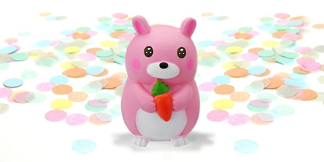45min Spring Animals Clay Sculpting Class - Chubby Bunny @2PM  (Ages 5+) tickets