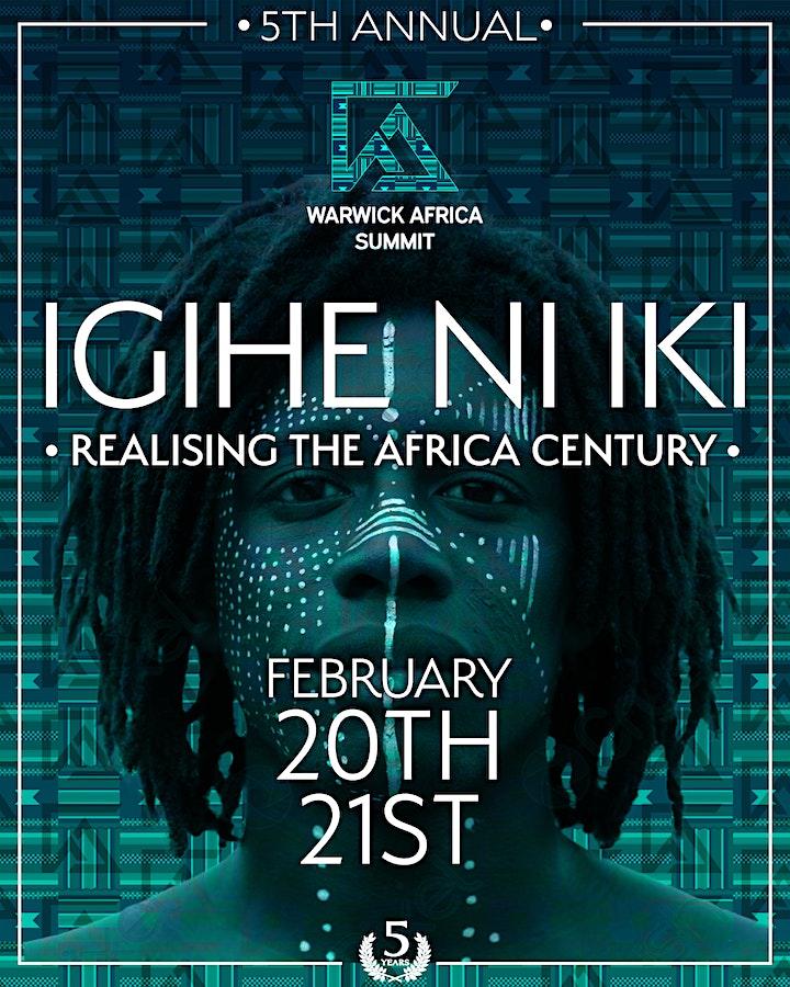Warwick Africa Summit 2021 | Igihe Ni Iki, Realising the Africa Century image
