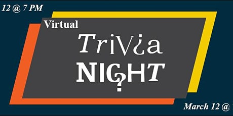 Fundraising Friday Virtual Trivia Night tickets