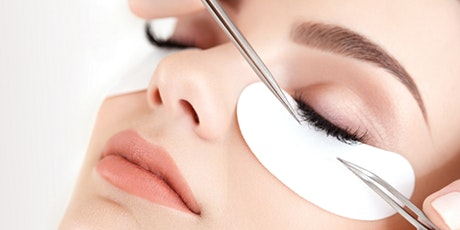 Professional classic eyelash extension training in person tickets