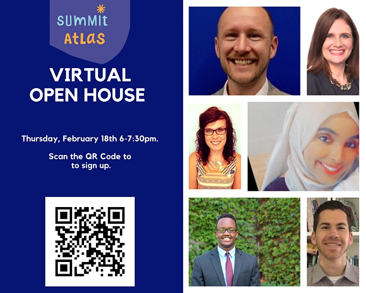 Summit Atlas Virtual Open House: Thursday, February 18th 6-7:30PM image