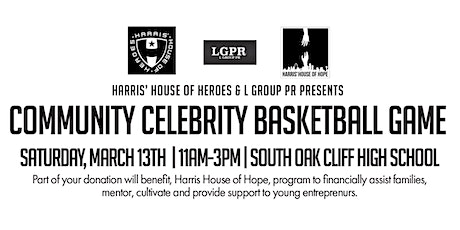 Harris' House of Heroes Celebrity Basketball Game tickets