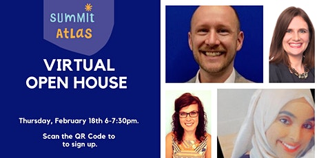 Summit Atlas Virtual Open House: Thursday, February 18th 6-7:30PM tickets
