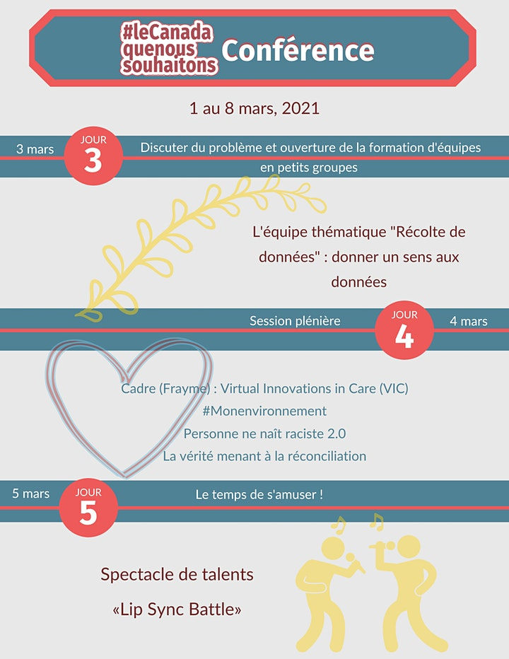 Image de La conférence #leCanadaquenoussouhaitons 2021