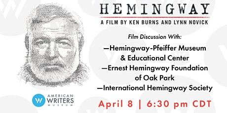"Panel Discussion: ""Hemingway"" Documentary tickets"