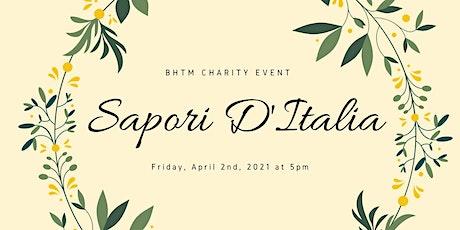 BHTM Sapori D'Italia Virtual Charity Event tickets