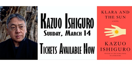 KAZUO ISHIGURO In Conversation with PICO IYER tickets