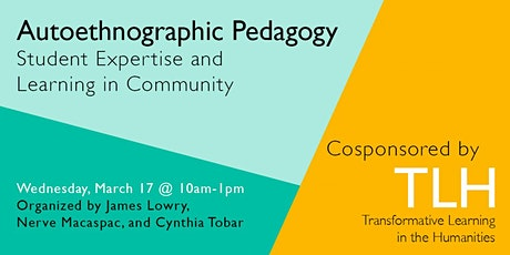 Autoethnographic Pedagogy: Student Expertise and Learning in Community tickets