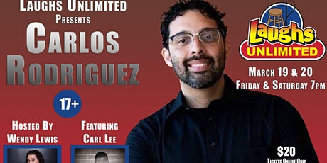 CARLOS RODRIGUEZ featuring Carl Lee - Inside Jokes Outside Laughs tickets