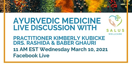 Ayurvedic Medicine - Free online class with local practitioner & physicians tickets