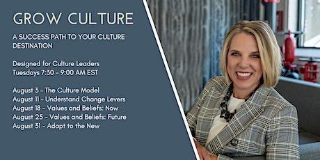GROW CULTURE tickets