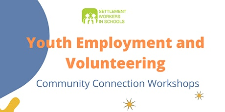 Employment and Volunteering Opportunities for Youth tickets