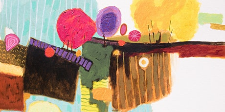 Online Adults Paint Night - Understanding and Creating Abstract Art tickets