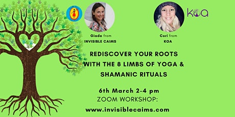 Rediscover Your Roots with Rituals and  the 8 Limbs of Yoga ingressos