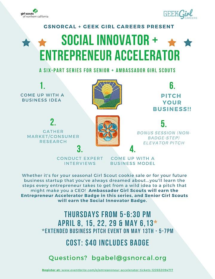 Social Innovator + Entrepreneur Accelerator image