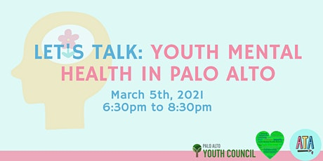 Let's Talk: Youth Mental Health in Palo Alto tickets