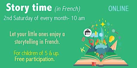 Storytelling in French - Children 5&up biglietti