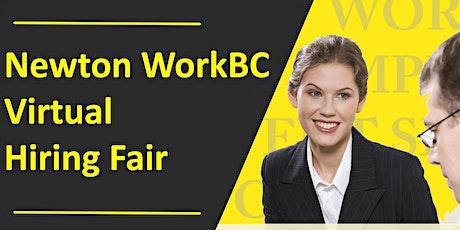 Newton WorkBC Virtual Job Fair Feb. 24th at 1 pm tickets