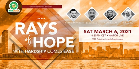 Rays  of Hope:  With Hardship Comes Ease - Chicago tickets