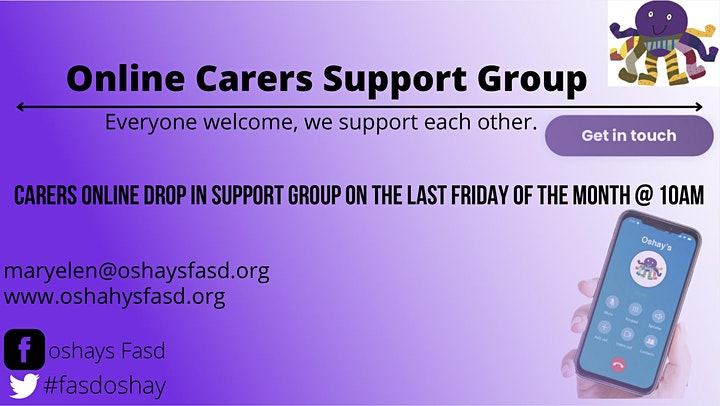 Oshays FASD Carers Support Groups ( Fetal Alcohol Spectrum Disorder) image