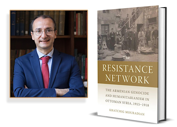 """Dr. Khatchig Mouradian's """"The Resistance Network"""" Book Blessing (Kinetson) image"""