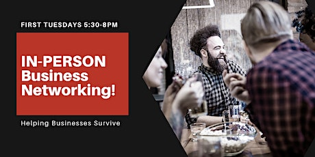 IN-PERSON networking! tickets