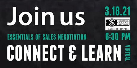 NSN RALEIGH Connect + Learn-NEGOTIATION tickets