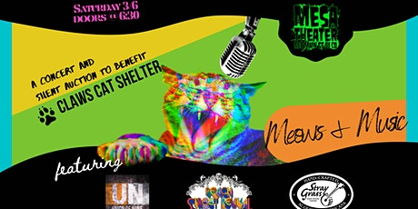 Meows + Music w/ Stray Grass, Peach street Revival + More! tickets