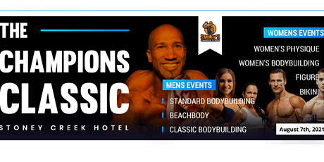 The Champions Classic Global Bodybuilding Organization Event tickets