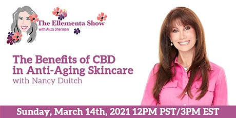 The Benefits of CBD in Anti-Aging Skincare with Nancy Duitch Tickets