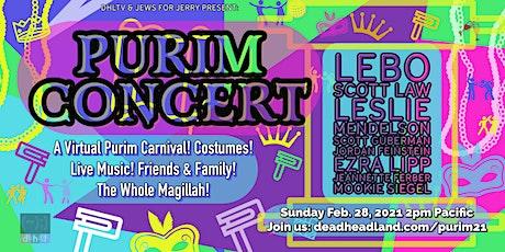 Purim Concert & Virtual Celebration! Gratefully Rockin' the whole Megillah! tickets