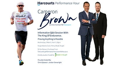 Harcourts Performance Hour with Cameron Brown tickets