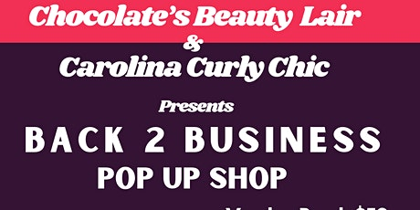 Back 2 Business Pop Up Shop tickets