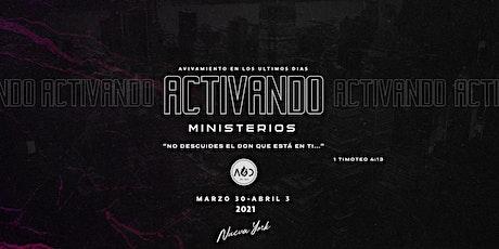 "EYR/AUD NYC-2021 ""Activando Ministerios"" tickets"