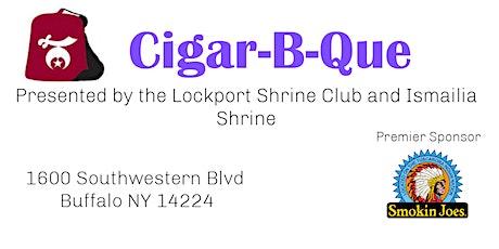 Shriners Cigar-B-Que 3 tickets