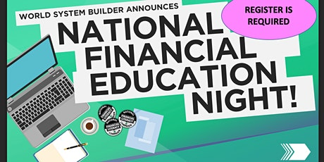 Financial Literacy Workshop USA/CANADA tickets