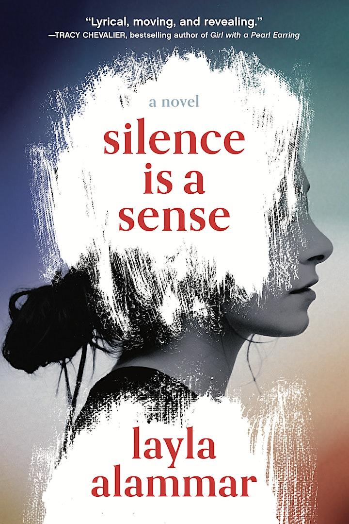 "Layla AlAmmar, author of ""Silence Is a Sense"" image"
