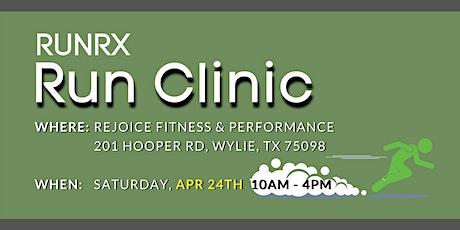RunRX Clinic 2021 (Dallas) tickets