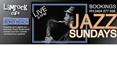 Live Jazz Free on Sundays Bondi Beach tickets